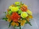 黄オレンジ系の元気色