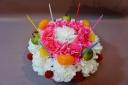フルーツ★フラワーケーキ