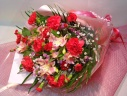 カーネーションのゴージャスなお花束