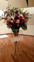 コーンスタンド花