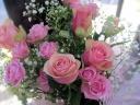 ラブピンクの花束