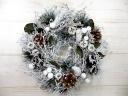 クリスマスリース【ホワイトFF】
