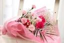 カーネーション・ピンクの花束