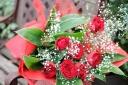 ベーシック♪真っ赤な花束