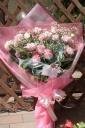 ピンク 豪華な花束