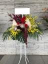 幕張メッセへ華やかなスタンド花をお届け!