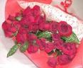【カンツォーネ】 30本バラの花束