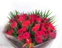 【ローテローゼ】 50本豪華な花束
