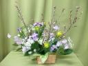 。○ 春満開! お花見アレンジメント 。.・