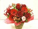 Love Roses  ~真っ赤なバラのアレンジメント~