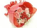 母の日に贈るカーネーションブーケ~赤ピンク~
