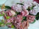 春だね!!ピンクの花束