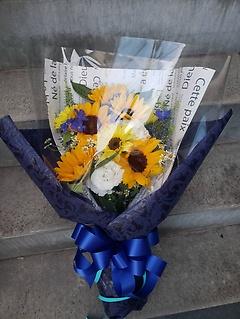 お父さんへ。感謝の花束を
