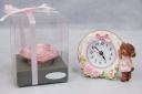ピンクハート&置時計