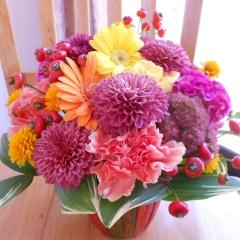ぬくもりあふれるお花「ノスタルジー」アレンジメント