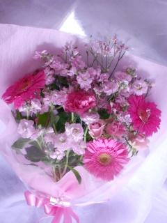 ロマンチックなブーケ「シャルロット」 花束