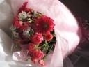 ピンクグラデーションが素敵な「ピンク・レディ」花束