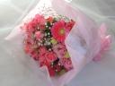 可愛いブーケ風の「ラブリー・ブロッサム」 花束