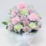 ペットの供花 ピンクカーネーションのアレンジメント