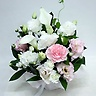 ペットの供花 白・ピンクのお供え花