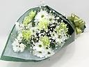 スプレー菊とカーネーションのお供え花束