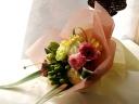 送別会や誕生祝いなどにパステルカラーの花束