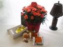 オレンジカーネ鉢ベルギーワッフルメープル&プレーン