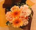 母の日ブーケ「Thanks Orange」