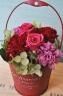 母の日ギフト「花花ピンクレッド」
