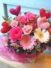 お花の贈物「Sweet Love ハート」