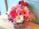 お花の贈り物「Happy ハート」