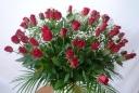 60本の赤バラを・・・