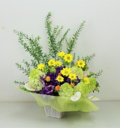 Light flower arrange