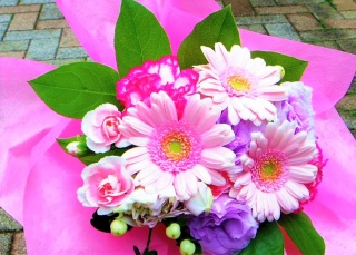 MB1 pink bouquet