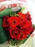 赤バラの花束ブーケ「小さな勇気」