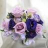紫/パープルのお花をアレンジした「パープルアイ」