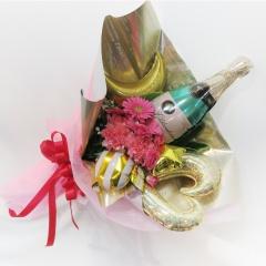 ★彡シャンパン★「party bouquet」