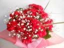 お母さんへ~真っ赤なカーネーションの花束~