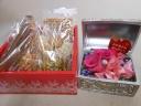 宝箱のピンクローズ&無添加焼き菓子セット