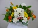 花のぬいぐるみ〈ネコ〉