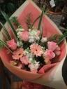 ピンクの花束(やさしいピンク)