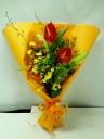 オレンジ花束