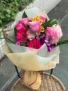 バラとガーベラの花束(ピンクMIX)