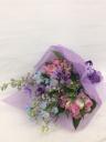 ブルーパープル系花束