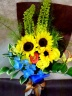 太陽の恵み! ひまわりの花束