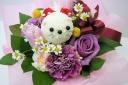 お花のにゃんこ*キュートなアレンジメント