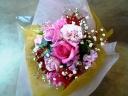 目をうたがう美しさ ラブ・ピンク 季節のブーケ