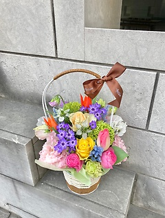 colorful basket♪♪