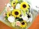 お供え用 ブーケ 向日葵