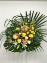 200 黄色バラ グロリオサ スタンド花